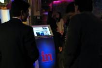 Terminal interactiva en evento Hay Equipo! Fuente: Infonegocios - Foto: Alvaro Corral.