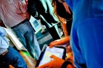 Tablet Táctil – Presentación de Neper Office Park