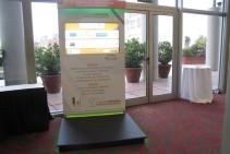 Tótem interactivo táctil – Jornada para emprendedores – Fundación E + E.