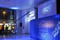 Servicio de filmación con grúa - Lanzamiento Nueva Ford Ranger - Maipú Automotores