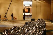 Servicio de filmación con grúa - Evento interno - Tarjeta Naranja
