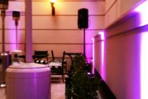 Iluminación decorativa - Inauguración Amérian Executive Hotel