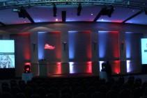 Iluminación decorativa - Presentación nuevo Presidente - Libertad