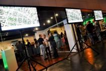 """LCD 42"""" con CCTV - Inauguración Office Neper Park - Grupo Inarco"""
