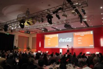 Pantalla Panorámica - Evento interno - Coca Cola