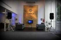 Servicio de sonido - Inauguración sucursal Córdoba - Zurich