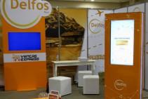 Delfos - Tótem interactivo ploteado con juego Memotest