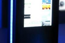 Infonegocios - Tótem interactivo ploteado con web del cliente